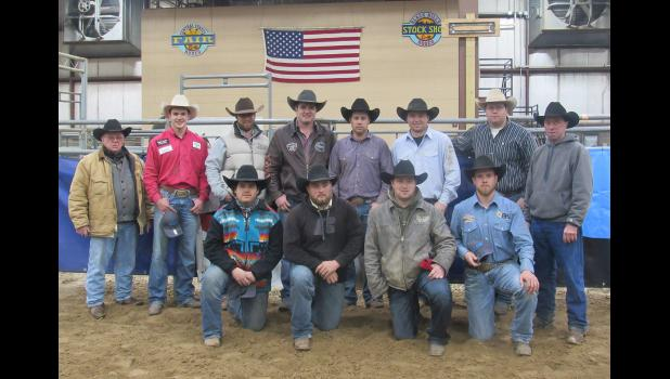 Qualifing for the Amercian in Ft. Worth, Texas: Back Row (L-R): Gordon Good, Bridger Anderson, Teigen Finnerty, Joe Wilson, Tee Burress, Eli Lord, Kody Woodward, and Allen Good. Front row (L-R): Herbie O'Daniel, Jace Melvin, Calder Johnston, and Cameron Morman.