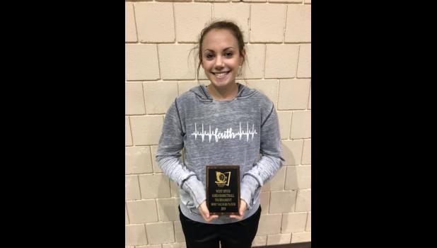 Girls Tournament MVP ... Sydnie Schauer