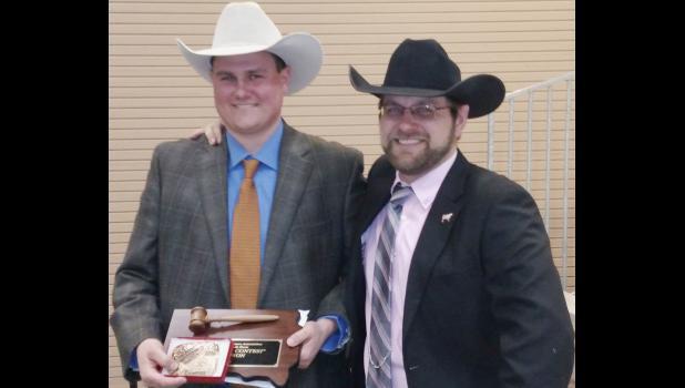 Dace Harper, champion auctioneer