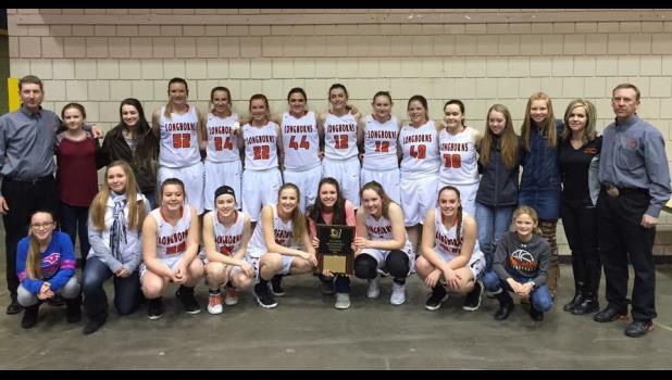 2018 Faith Girls Basketball Team