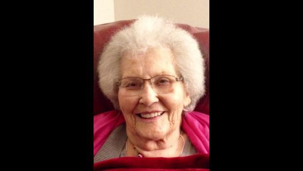 Claire Belle Cooper Mayer, age 97