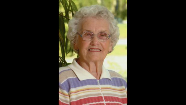 Mildred Radway, age 91