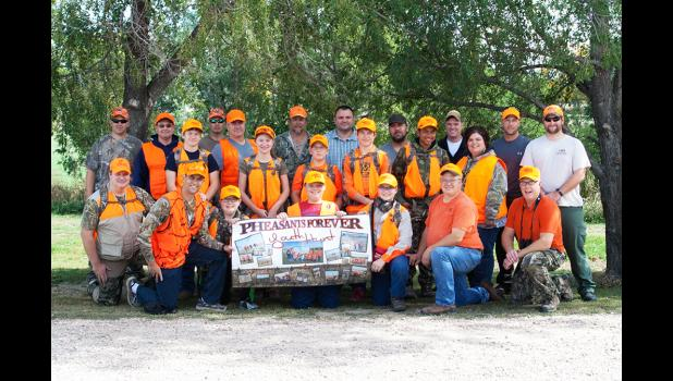Pictured above are several youth and adult guides who participated in the 2016 Pheasants Forever Youth Pheasant Hunt. For further information on this hunt you can visit https://gfp.sd.gov/hunting/small-game/youth-pheasants.aspx.