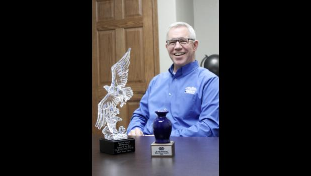 Parsons has been a South Dakota agent for American National Insurance for only six months of 2017, yet still earned the 2017 American National State Agriculture Agent of the Year Award. He also earned the company's coveted Blue Vase Award for agents doing exemplary work with the company during their first six months.