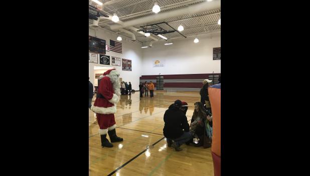 Santa came to town!