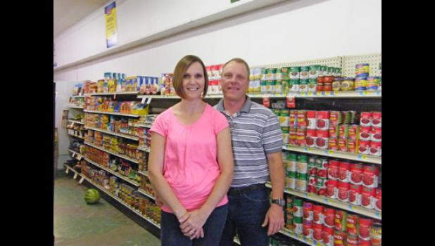 New store owners Mike and Kim Musch.